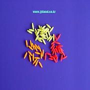실리콘 형광찌방울|형광빨강/오렌지/연두