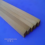 스기목(삼나무목재)|20mm x 20mm x 60cm각재