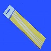 잘라쓰는 실리콘 축광찌고무|18cm x 4줄