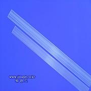 일자형 무색튜브톱(1.2mm)|1.2mm x 16,18,20,23,25cm