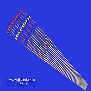 투광일체형 실리콘방울찌톱(A)|0.7 x 1.5mm x 30,35,40cm