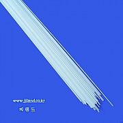 백색솔리드찌다리(일자형)|0.8/0.9/1.0/1.1/1.2/1.3/1.5/1.8/2.0mm