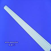 중층내림 무색글라스펄톱(D)|0.4 x 0.9mm x 20,22,24,26,28,30,32,34cm