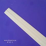 빗살용 백색솔리드|1.2mm/1.3mm/1.4mm/1.5mm x 600mm