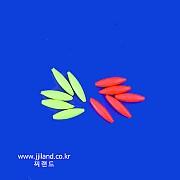 마카형광볼(유선형)|2컬러