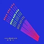 투광대물방울찌톱(A)|0.8 x 1.8mm x 18,20cm