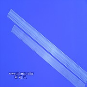 일자형 무색튜브톱(1.2mm)|1.2mm x 18,20,23,25cm